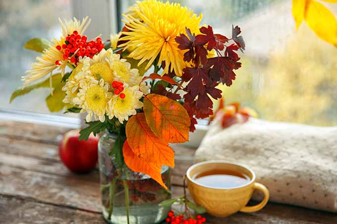 Fall Floral Arrangement Cover | GardenersPath.com