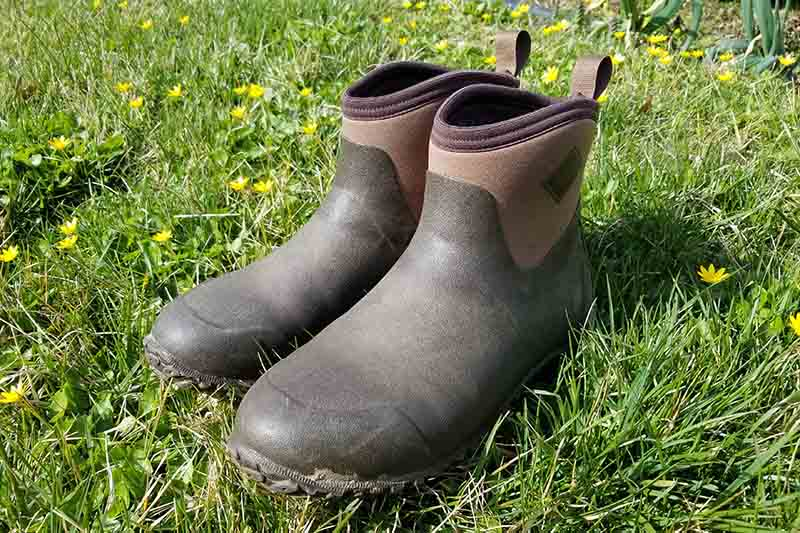 A close up of a pair of the Original Muck Boot Company