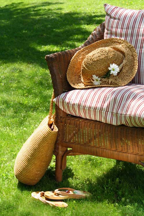 One of the best things that you can do to spruce up your backyard is to purchase a wicker furniture set or an accessory or two. Read about what you need to know to choose the best for you and how to take care of this natural material. https://gardenerspath.com/gear/outdoor-furniture/add-wicker-furniture-accessories-backyard/