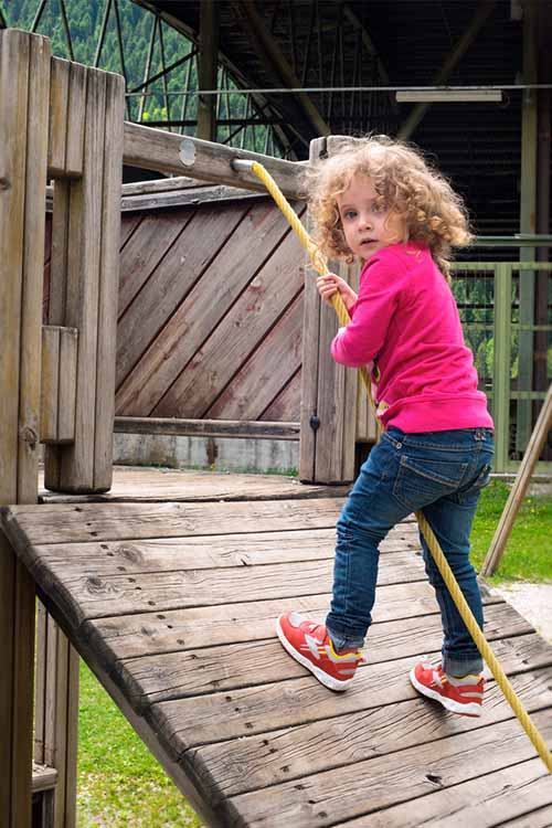 Got rambunctious kids with little room to roam? It might finally be time to buy a backyard playground set! Learn how to make the best choice for your family in this informative article from Gardener's Path: https://gardenerspath.com/gear/outdoor-furniture/backyard-playground-equipment/