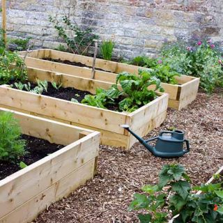 Wooden Raised Beds | GardenersPath.com