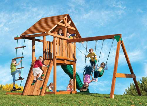 The Best Backyard Playground Equipment Of Gardeners Path - Backyard playground equipment