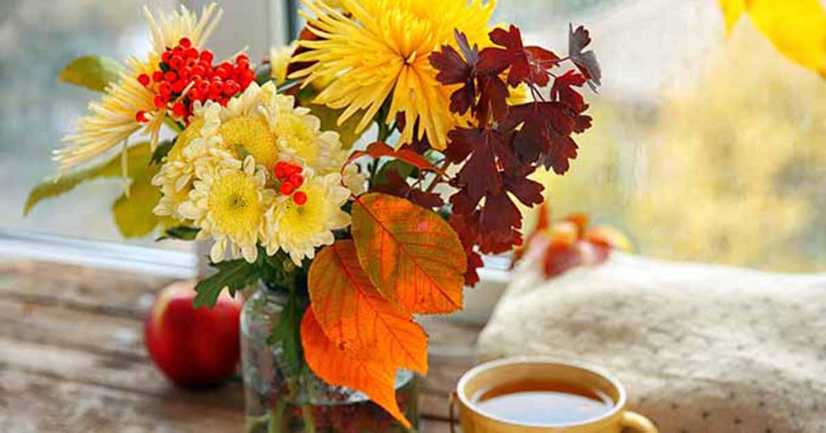 Arranging Foliage From Your Garden Gardener S Path