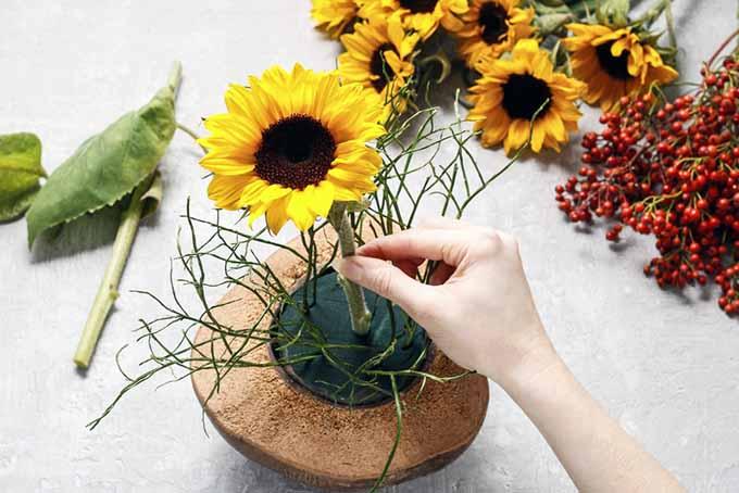 Third Step Floral Arrangement | GardenersPath.com