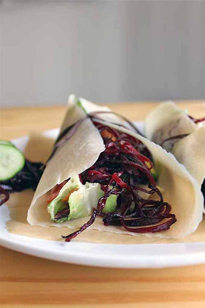 If you love these delicious root vegetables, grow them in your own garden this year, and try them in this tasty spiralized wrap: https://gardenerspath.com/plants/vegetables/how-to-grow-beets/