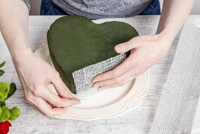 Easy Blooming Heart Centerpiece | GardenersPath.com