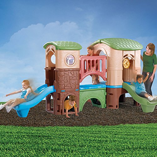 0ffb977da2a8 Perfect for the younger kids ages two through five, the Step2 Clubhouse  Climber accommodates up to four children for a fun play date.