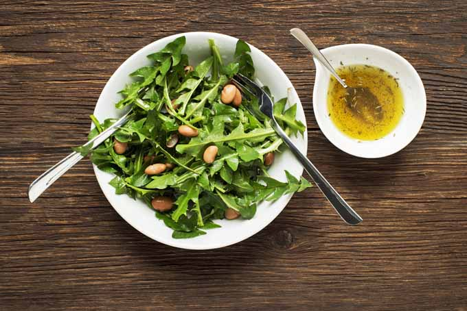 Dandelion Greens Salad | Gardener's Path
