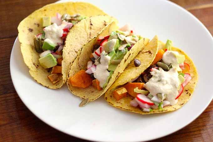 Sweet Potato Mushroom Tacos | GardenersPath.com