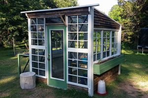 Build a Greenhouse Out of Free Pallet Racking