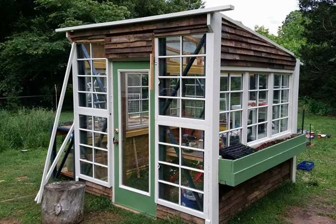 Build a Greenhouse Out of Free Pallet Racking | Gardener's Path