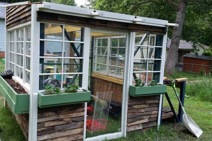 Finished green house | Gardener's Path