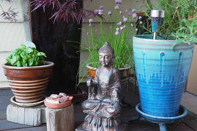 The garden is the perfect environment to practice mindfulness | GardenersPath.com