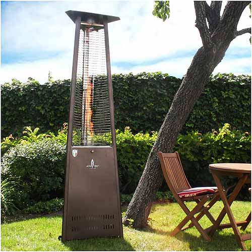 KD Liquid Natural Gas Patio Heater | GardenersPath.com