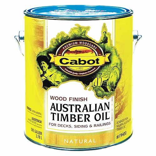 Cabot Australian Timber OIl Wood Finish | GardenersPath.com