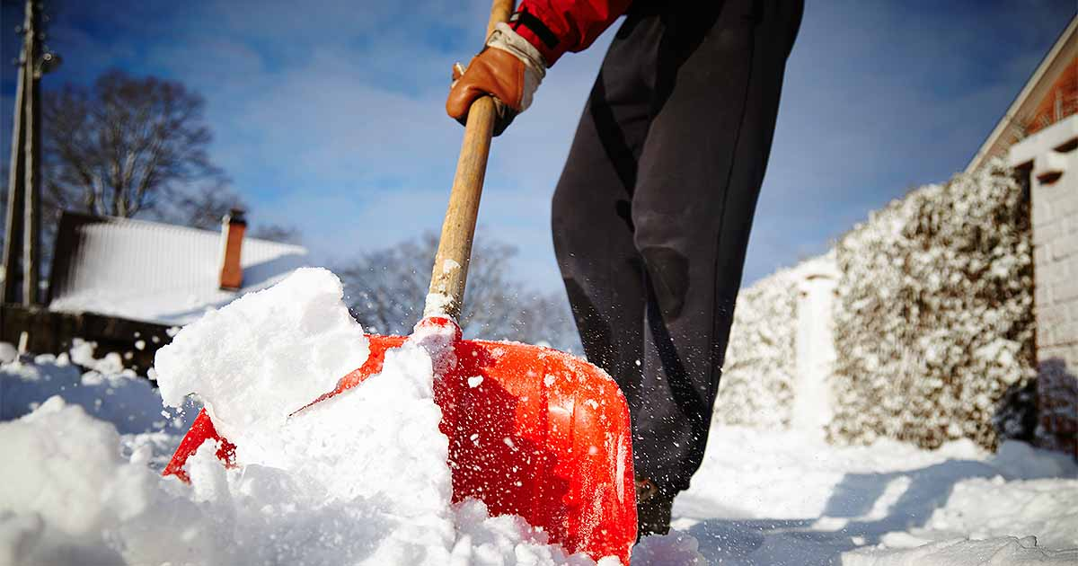 Image result for snow shovel
