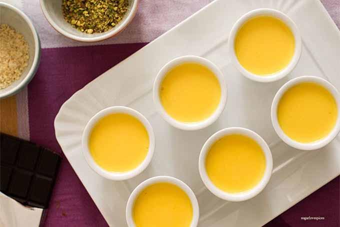 Saffron Panna Cotta | GardenersPath.com