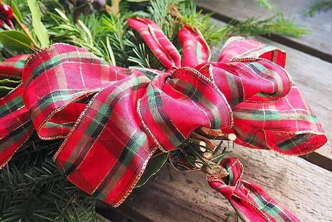 Christmas Swag Tutorial | GardenersPath.com