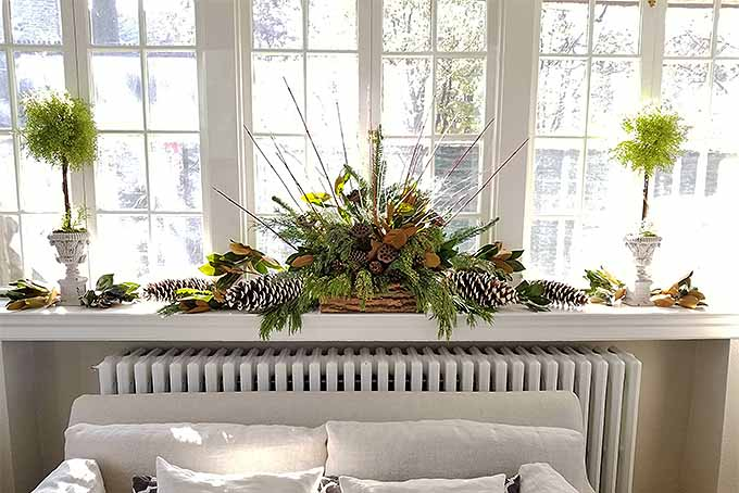Learn how to decorate your home for the holidays with wintertime foliage. | GardenersPath.com