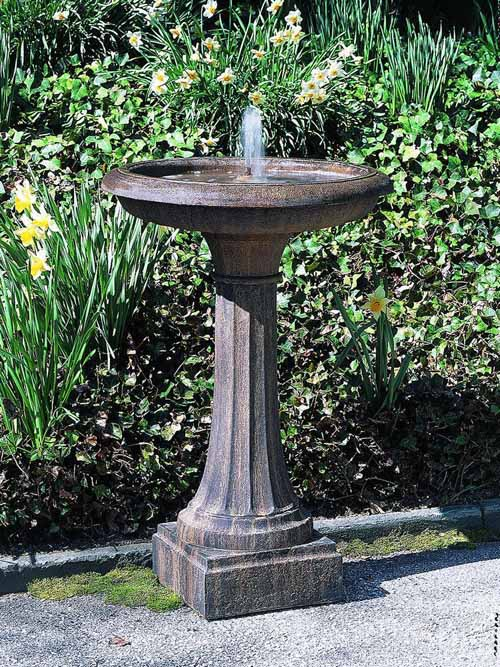 Longmeadow Concrete Fountain