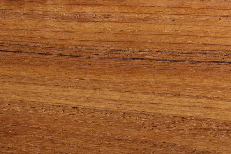 Top down view of the wood pattern of teak wood.