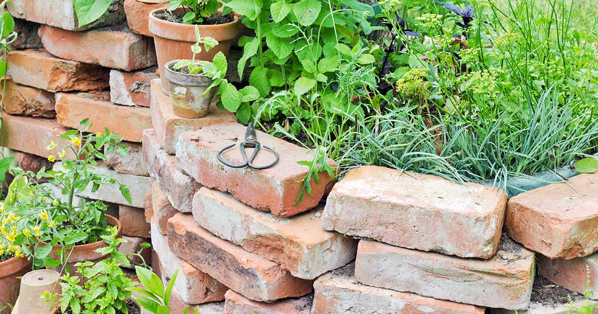15 Creative Ways to Use Bricks in Garden Design | Gardener's