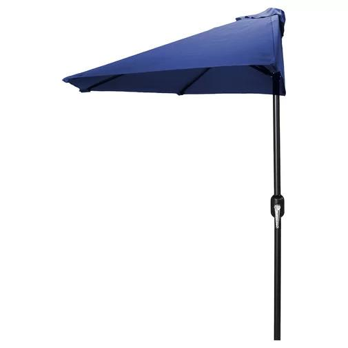 Sheehan Market Umbrella on a white, isolated background.