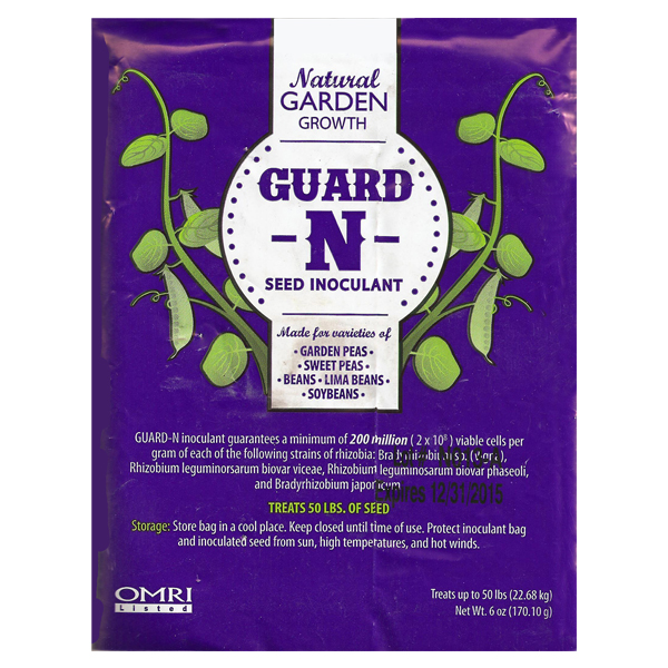 A package of Guard'n Seed Inoculant