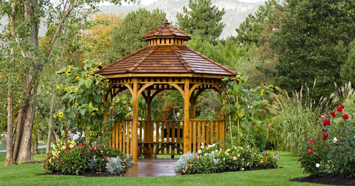 The 11 Best Gazebos For Garden Relaxation In 2020 Gardener S Path
